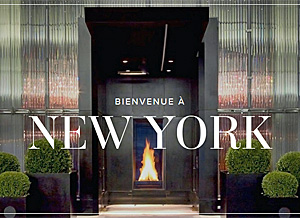 Bienvenu a New York