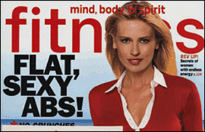 Fitness Magazine, October 2002. Gem Dandies.