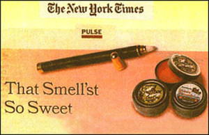 New York Times. That Smell'st So Sweet